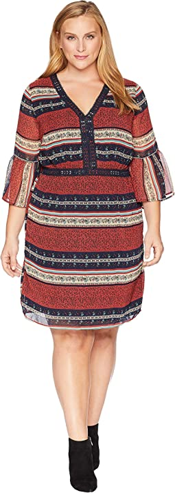 Plus Size Royce V-Neck Dress