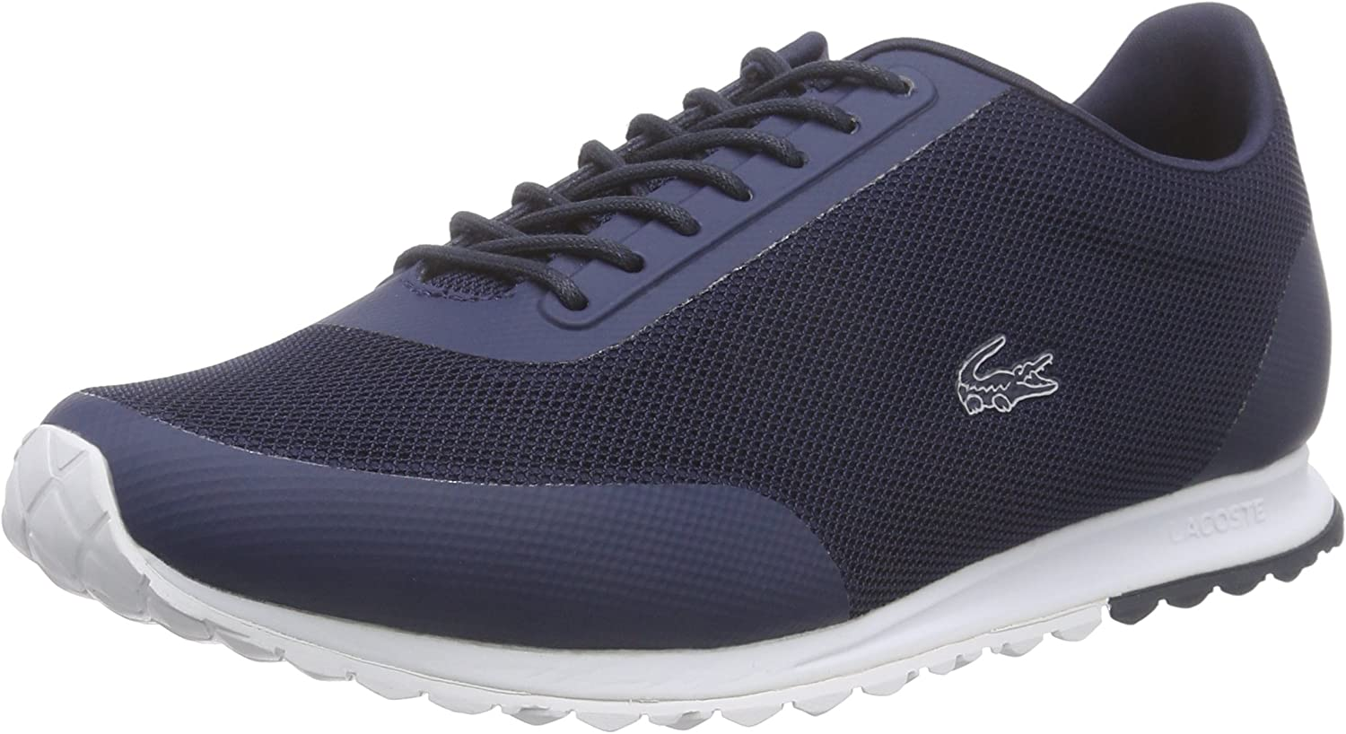 Lacoste Womens Navy White Helaine Runner 116 3 SPW Trainers