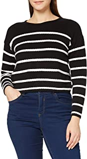 Lee Cooper Women's STRIPED PULLOVER Sweater