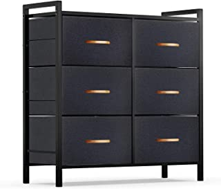 ROMOON Dresser Organizer with 6 Drawers, Fabric Storage...