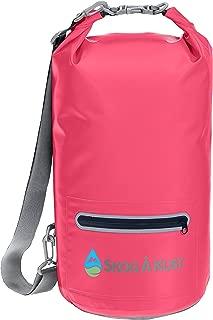 DrySåk Waterproof Floating Dry Bag with Exterior Zippered Pocket | for Kayaking,..