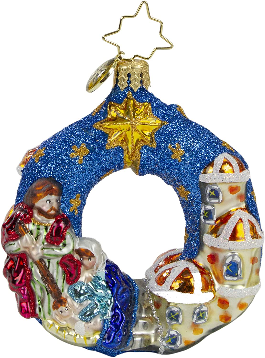 Christopher Radko Hand-Crafted Max 76% At the price OFF European Ornament Christmas Glass