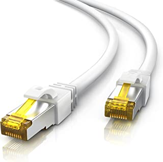 Primewire 30m Cable de Red Gigabit Ethernet Cat 7-10000 Mbit