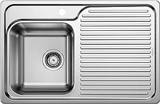 BLANCO 511125 Küchenspüle Edelstahl Naturfinish, 1 Stück