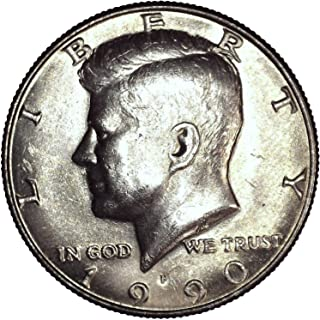 1990 P Kennedy Half Dollar 50C About Uncirculated