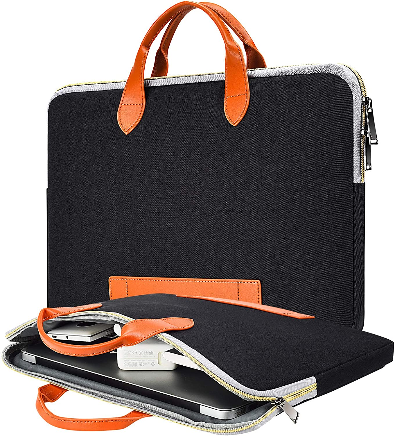 13.5-15 Inch Waterproof Spring new work Laptop Case San Francisco Mall Men Bag Women with fo Handle