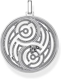 Thomas Sabo Men Silver Pendant Pe865-637-21