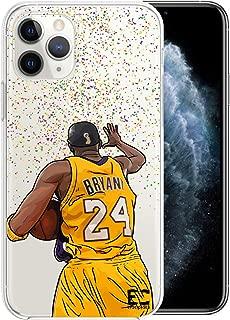 Epic Cases iPhone 6 Plus iPhone 7/iPhone 8 Plus Case Ultra Slim Crystal Clear Basketball Series Soft Transparent TPU Case Cover Apple (Kobe, iPhone 6/7/8 Plus)