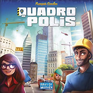 Days of Wonder Quadropolis Board Game