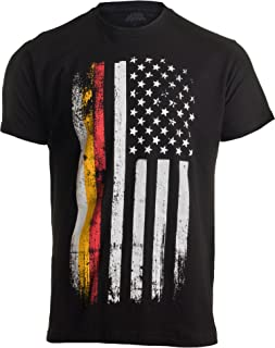 german shepherd american flag shirt
