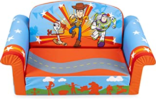 Marshmallow Furniture, Children's 2-in-1 Flip Open Foam Sofa, Disney Toy Story 4, by Spin Master