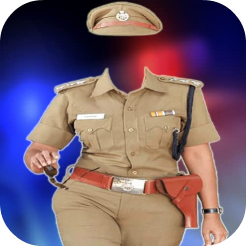 Women Police Photo Maker
