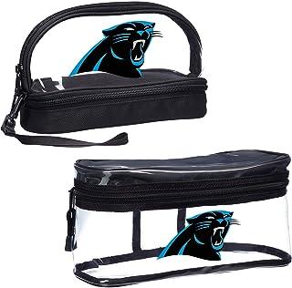 """NFL Carolina Panthers 2-Piece Travel Set, 10.75"""" x 4.5"""" x 5.5"""""""