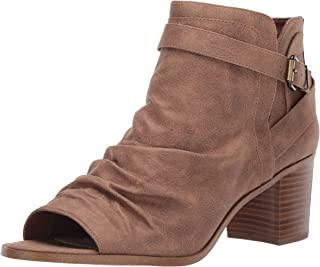 Fergie Women's Jaded Booties Ankle Boot, Sand, 10 US medium