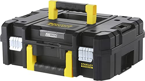 Stanley FMST1-71966 Mallette Tstak/PRO-STACK Gamme Fatmax - Résistant - Corps Polypropylène - Attaches Métalliques An...