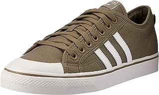 adidas, Nizza Trainers, Men's Shoes, White/Black/White, 12.5 US