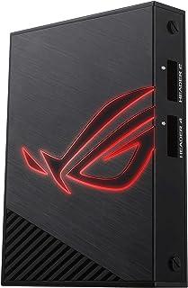 華碩 90MP00X0-M0EAY0 四端口可尋址 RGB 控制器,帶 ROG 光環和光環同步 - 黑色