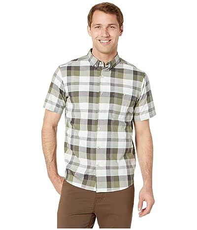 Mountain Hardwear Big Cottonwoodtm Short Sleeve Shirt (Dark Army) Men