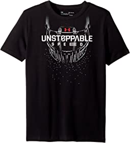 Under Armour Kids Unstoppable Speed Short Sleeve Tee (Big Kids)