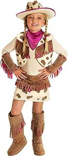 Princess Paradise Kids Rhinestone Cowgirl Costume, Medium, Ivory/Tan