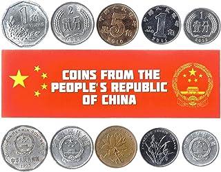 هواية الملوك عملات مختلفة - عملات أجنبية صينية قديمة وتحصيلية لجمع الكتب - مجموعات أموال عالمية تذكارية فريدة من نوعها - ه...