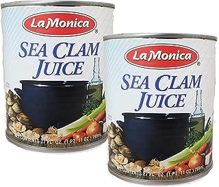 Lamonica Clam Juice - Two 29 Ounce Cans = 54 Ounces