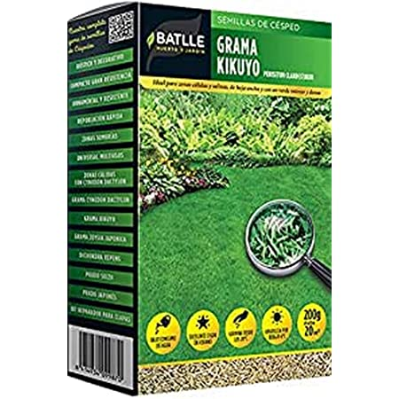 Semillas de Césped - Césped Grama Kikuyo 200g - Batlle