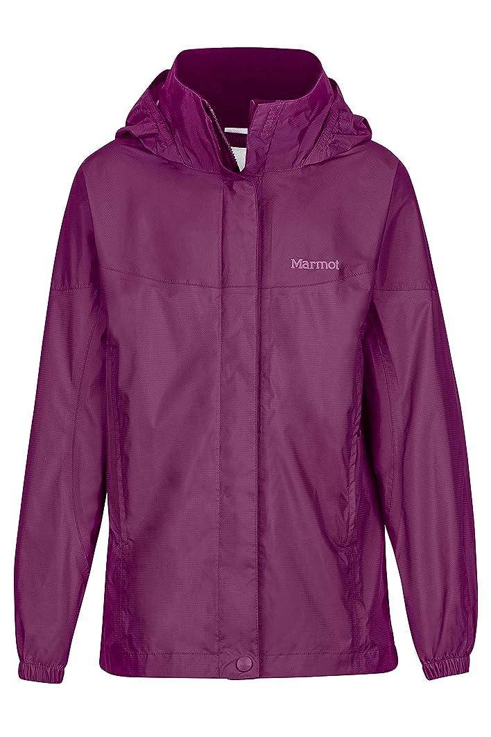 Marmot Precip Girls' Lightweight Waterproof Rain Jacket