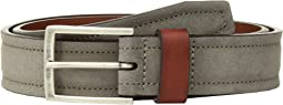 Johnston & Murphy Suede & Leather Loop Belt