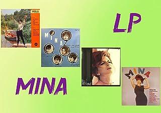 4 Vinili Mina - Tintarella di Luna, Il cileo in una stanza, Mina n. 2 e Renato