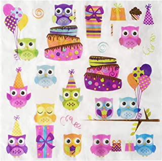 Salome Idea 60 Counts Creativite Funny Disposable Napkins for a Wedding or Tea Party Creative Napkins