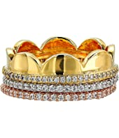 Kate Spade New York - Slender Scallops Pave Band Set