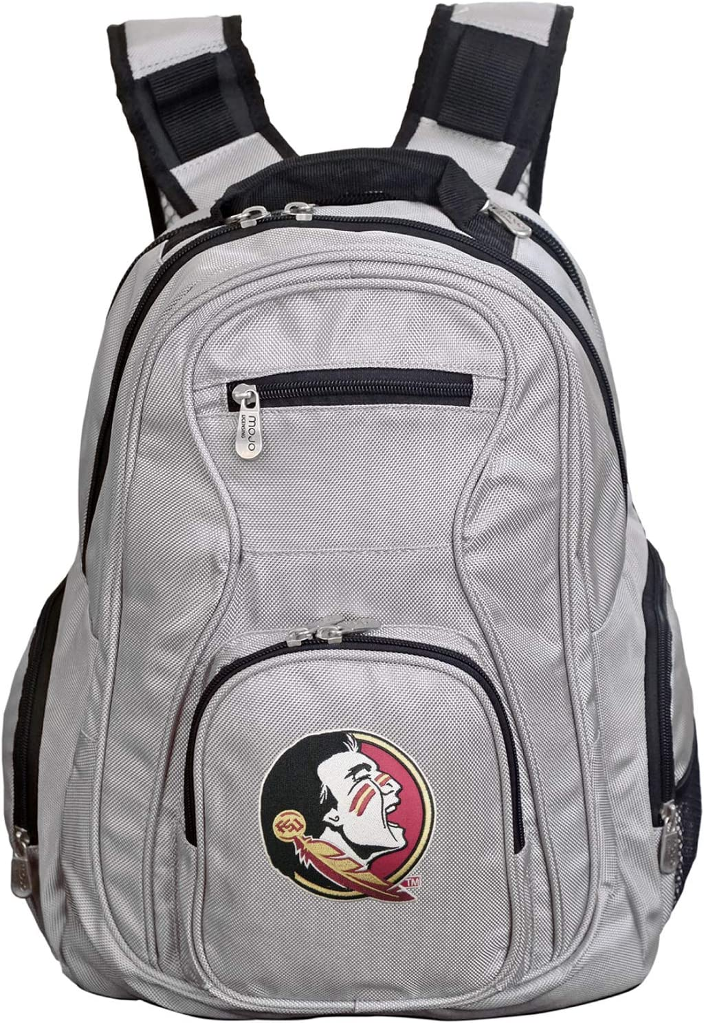 Denco NCAA Laptop Backpack Grey 19-inches
