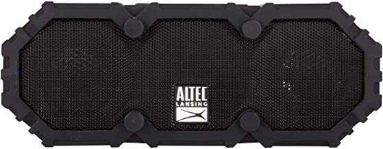 Altec Lansing Imw477 Mini LifeJacket 2 Bluetooth Speaker, IP67 Waterproof, Shockproof, Snowproof and IT Floats Rating, wit...