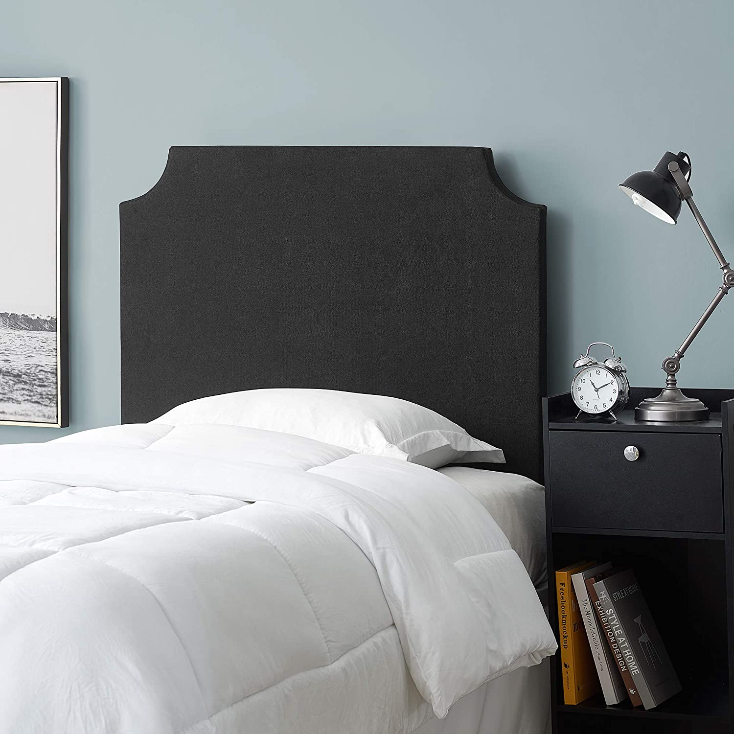 Free shipping on posting reviews Max 60% OFF DIY Headboard - Black Bedding College