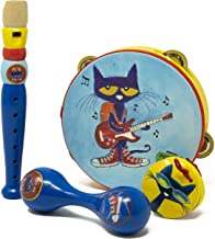 Pete the Cat - 4 Piece Toy Musical Instrument Set