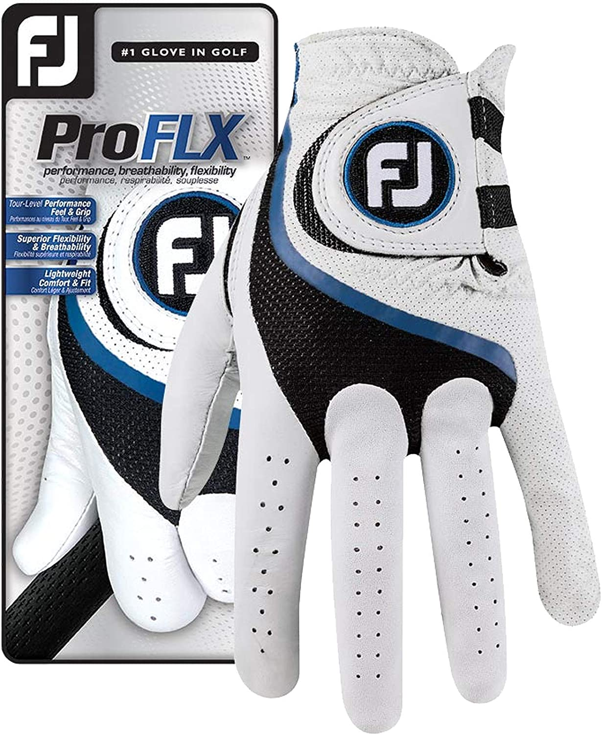 FootJoy Men's Louisville-Jefferson Indianapolis Mall County Mall Pro FLX Glove Golf Pearl
