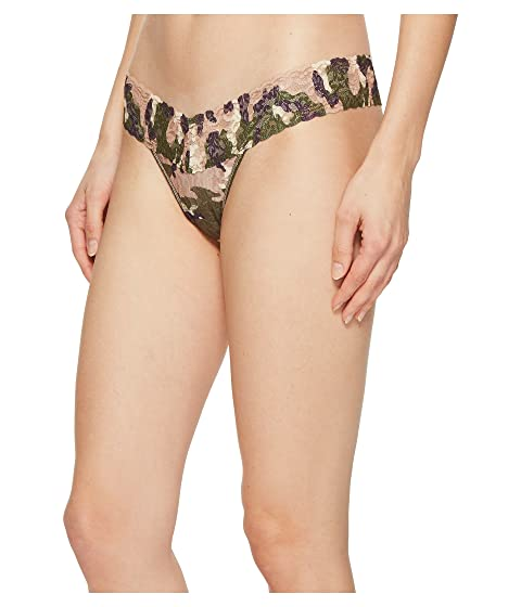 Hanky Panky Hunter Low Rise Thong Taupe/Green 1 Cheap Sale Choice 0Su2M3pHNq