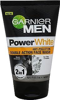Garnier Men Power White Anti-Pollution Double Action Face Wash, 100gm (100 ml)