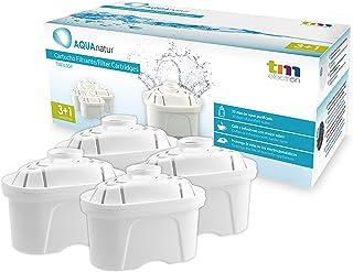 comprar comparacion TM Electron Pack de 4 a 8 Meses de Filtros de Agua Compatibles con Las Jarras Maxtra, Multicolor, 4 Unidades