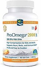 Nordic Naturals Proomega 2000 Jr. - Fish Oil, 586 Epa, 456 Dha, 60 Count