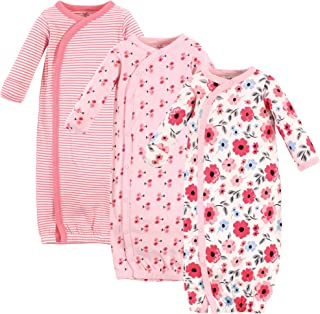 Touched by Nature Baby Organic Cotton Kimono Gowns 3pk
