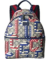 Gucci Kids - GG Supreme Backpack (Little Kids/Big Kids)