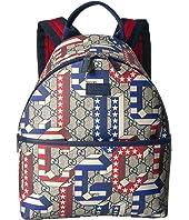 Gucci Kids - GG Supreme Backpack (Little Kids/Big Kids)