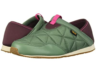 Teva Kids Ember Moc (Toddler/Little Kid/Big Kid) (Helix Green) Kid
