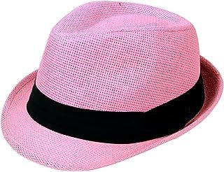 e4ac87940d4b2 Men   Women s Beach Straw Fedora Hat - Assorted Colors
