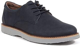 Walkmaster Men's Plain Toe 1 Black Leather Oxford