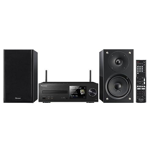 Pioneer X-HM72 minicadena Hi-Fi(2 x 50 Watt, WiFi, Bluetooth, DLNA, Spotify Connect, App Control, Brillante-Altavoces)