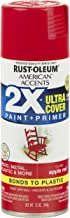 Rust-Oleum 327875 American Accents Ultra Cover 2X Gloss, Each, Apple Red