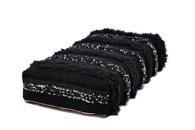 Rapid rise Moroccan Handira Floor Pillow Pouf Rare Cover Berber Bohem Handmade